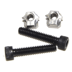 S1 NUT and Extra Mounting Screws for S1 Stops